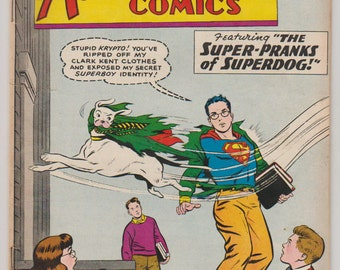 Adventure Comics; Vol 1, 266, Silver Age Comic Book.  VG (4.0). November 1959.  DC Comics