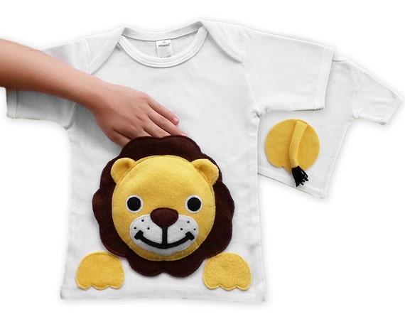 Items similar to kids clothes lion shirt boy toddler