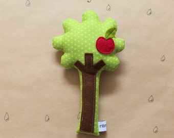 Apple Tree Rattle | Baby Rattle