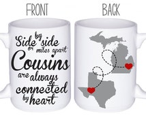 Cousins Mugs - Cousin Gift Idea - Personalized Mugs - Gift For Cousin - Custom Mug - Family Reunion Gift - Best Cousin Gift Idea