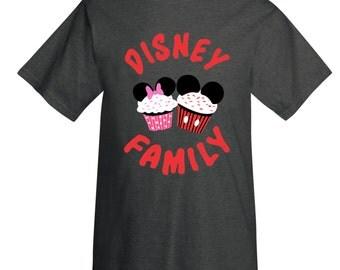 Youth Disney Family Cupcake T-Shirt