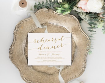 Rehearsal Dinner Invitation Template gangcraftnet