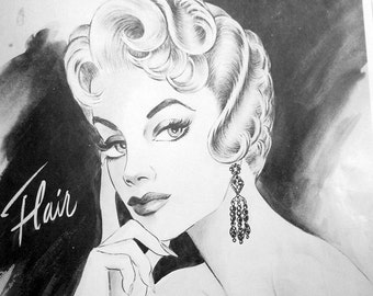 hollywood glamour hair ads 1950s download