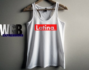 Latina ladies tank top beach clothes summer tank top