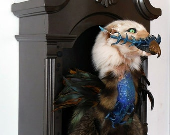 The Royal Griffin x an Original Rogue Taxidermy Creation