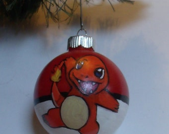 Pokemon Charmander Ornament