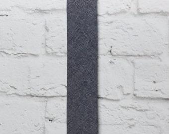 Gray Tie| Herringbone Necktie| Weddings Ties | Grooms Gift