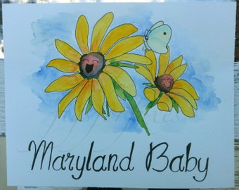 Maryland Baby - Blackeyed Susan