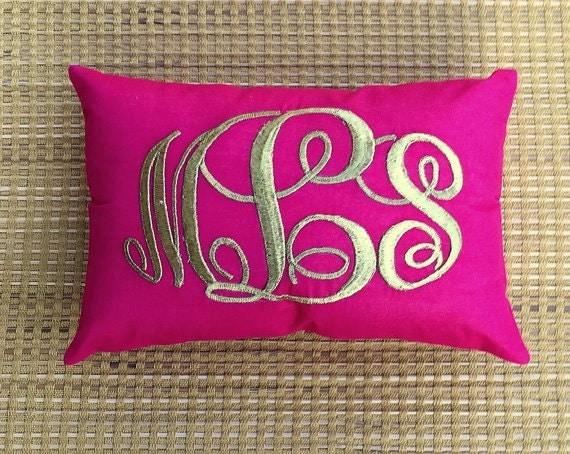 30%OFF Sale Monogram Pillow Decorative Custom Valentine