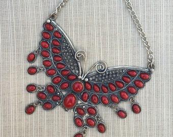 Huge Butterfly Pendant -- 237