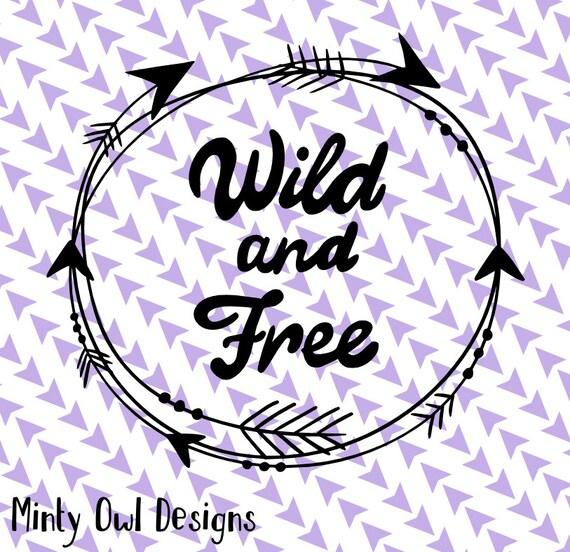 Cricut Svg Wild Amp Free Svg Arrows Tribal Frame Boho