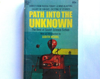 Path Into the Unknown Sci Fi Vintage Book