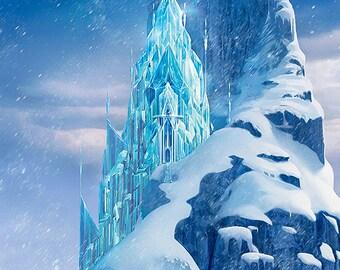 Disney Frozen Backdrop - VERTICAL