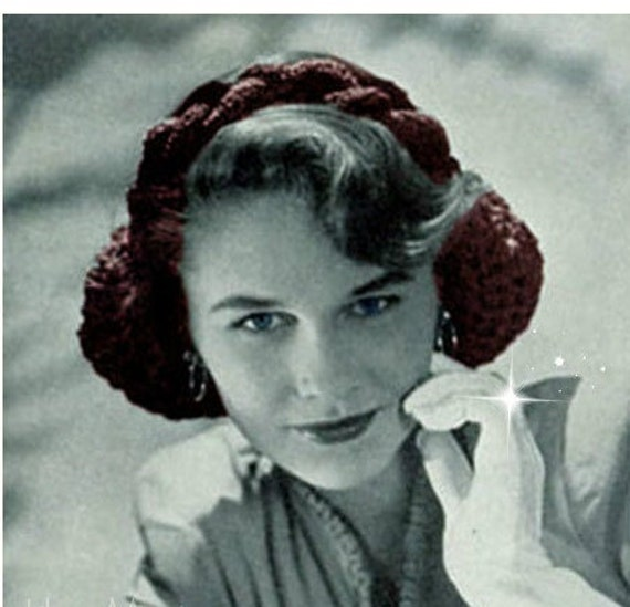 Free Vintage Snood Crochet Pattern Dancox For