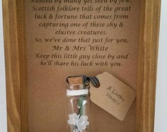 Scottish wedding gift, Wedding present, Gift from Scotland.