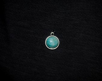 Handmade Colorado Amazonite Pendant