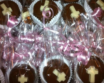 Gourmet Chocolate Covered Oreo Communion/Christening/Confirmation Favors