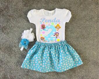 Bubble Guppies Birthday Shirt, Bubble Guppies Shirt, Bubble Guppies Personalized Shirt, Girls Bubble Guppies Shirt, Bubble Guppies Tutu