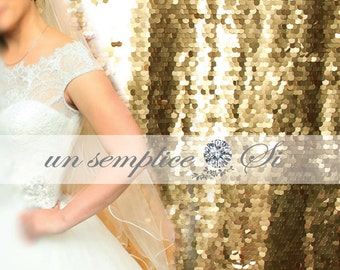 GOLD SEQUIN Photobooth Backdrop , COIN Backdrop