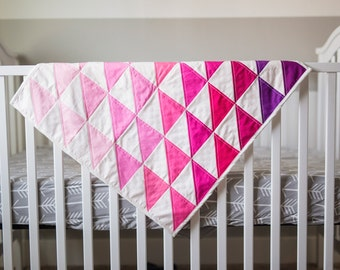Tickle Me Pink Baby Quilt