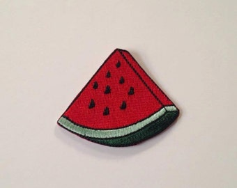 Watermelon Slice Iron on Patch