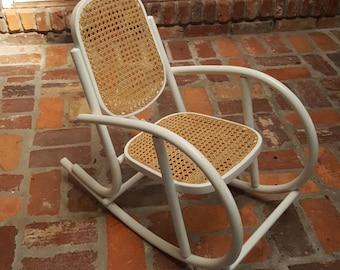 Child's Bentwood Modern Rocking Chair by Akita Mokko Japan