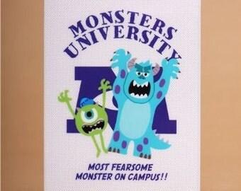 Kamio Disney Monsters University 2-pocket A6 Mini File Folder