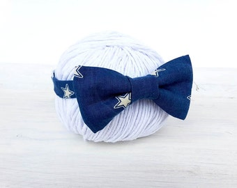 Baby Bow tie, Stars Bow tie, Bow tie Boys, Kid's stars Bow tie, Bowtie Boys newborn photo prop, bow tie child