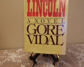 Factory Sealed Lincoln A Novel By Gore Vidal Random House Civil War Abraham Lincoln Rare Never Opened
