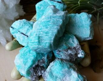 Amazonite Stones | Raw Amazonite | Natural Amazonite | Amazonite | Healing Crystals | Stones | Crystals | Natural Crystals | Natural Stones