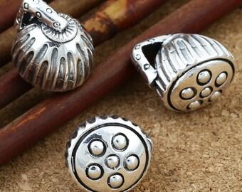 Sterling Silver Lotus Pod Pendant, 925 Silver Lotus Pendant, Sterling Lotus Pendant, Flower Pod Pendants, Silver Lotus Pod Charm - E438