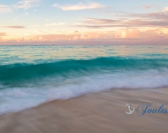 Grace Bay ~ Turks and Caicos, Caribbean, Paradise, Islands, Tropical, Beach, Nautical, Ocean, Sunset, Coastal Decor, Beach Photography, Art