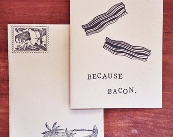 Because Bacon Card Pack