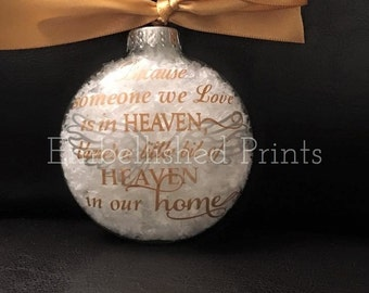 Heaven Christmas Ornament