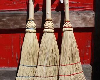 Hearth Broom with Fir Handle