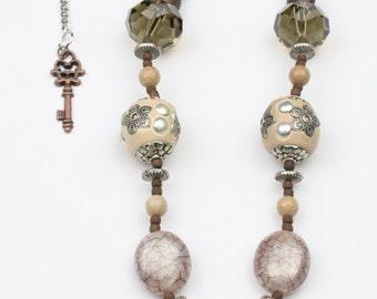 Jasper Necklace – Jasper Focal – Earthtone Necklace  - Jasper Jewelry - Jasper Pendant Necklace