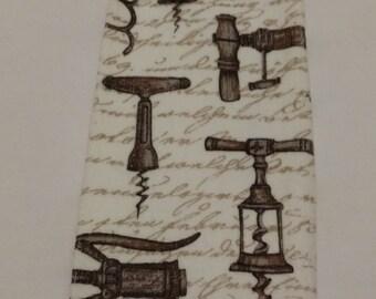 Corkscrews Knob Style Hanging Kitchen Towel