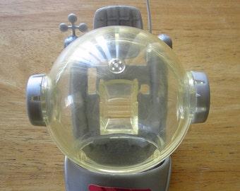 Vintage Astronaut Barbie 1985 plastic Bubble Helmet VG (DM-30)