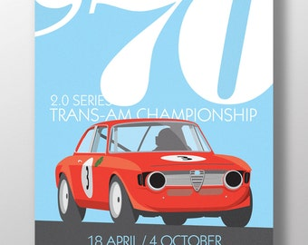 Alfa Romeo Giulia GTA Print