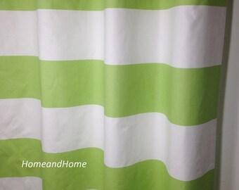 Stripe curtains Nursery curtain Navy curtain Curtains drapery
