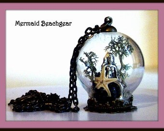 Mermaid Terrarium Necklace