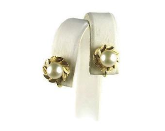 Majorica Pearl Earrings