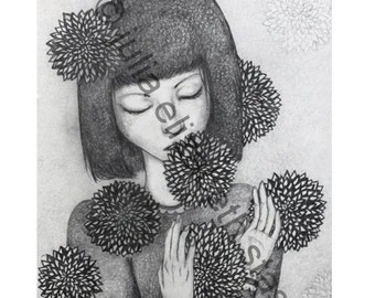 Flower Language 4x6 Print