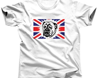 English Bulldog Shirt Dog Shirt Dog Tshirt Dog Lover Pet Shirt Dog T-Shirt Bull Dog Shirt English Bulldog Tee Animal Shirts Dog T Shirt