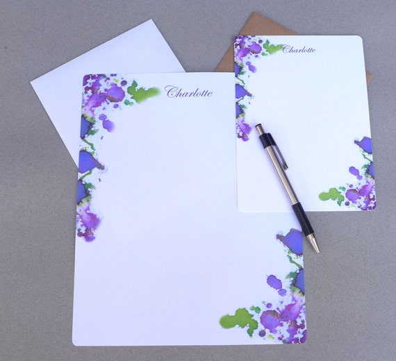personalized letter writing stationery writing paper flat With personalized letter writing paper