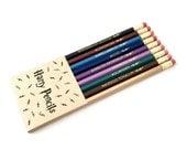 HARRY PENCILS - magic spells pencil set