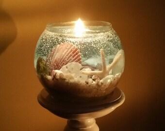Dazzling Ocean Scene Gel Candles