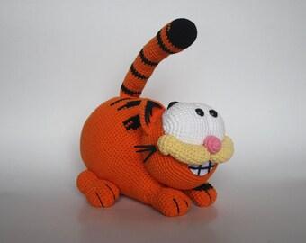 Amigurumi Free Patterns Garfield : Amigurumi garfield Etsy DE
