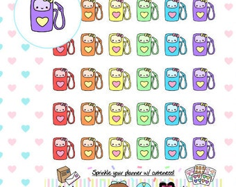 Kawaii Gas | Perfect for any planner (289)