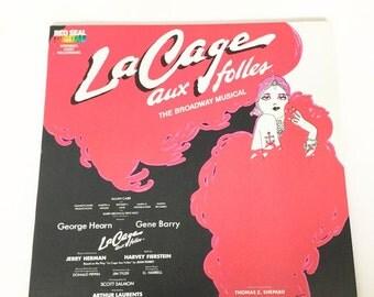 La Cage Aux Folles Broadway Musical Original Cast Recording 1983
